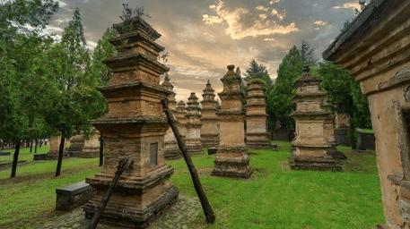 Les Pagodes du Temple Shaolin, un site exceptionnel