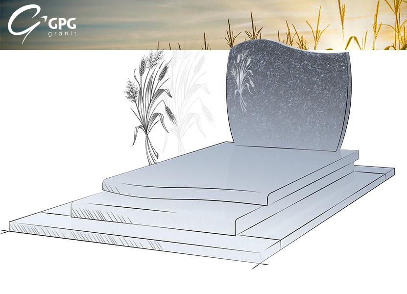 Illustration •Zoom sur le monument funéraire GPG 112/A