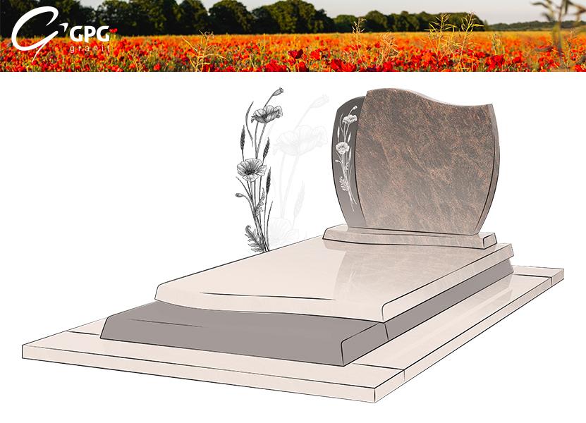 Illustration •Zoom sur le monument funéraire GPG 249