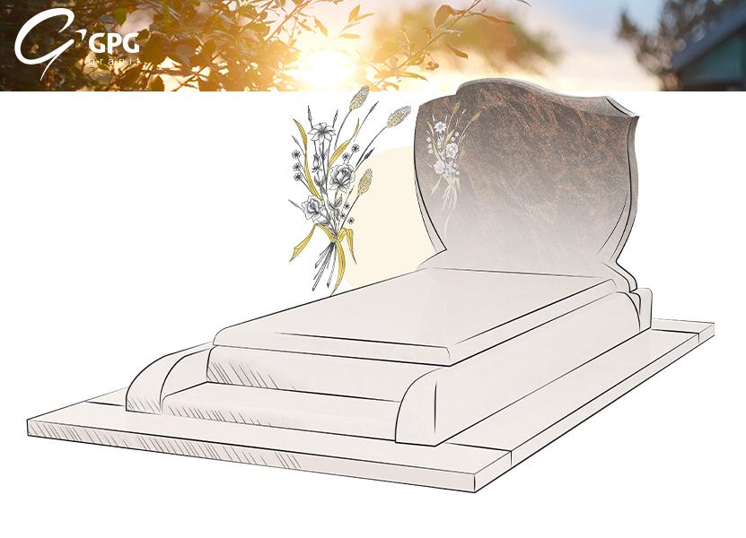 Illustration •Zoom sur le monument funéraire GPG 293