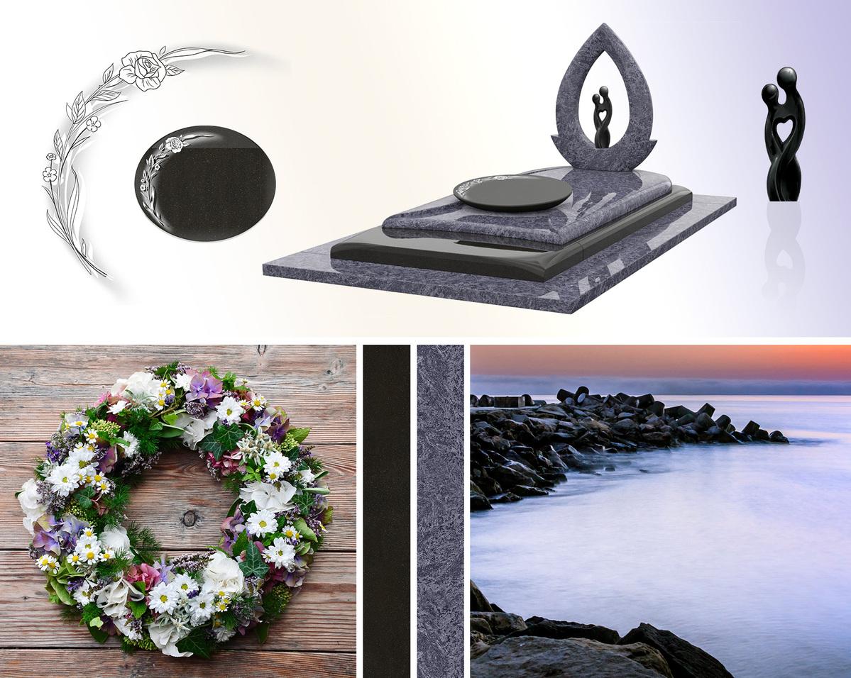Monument en granit, les inspirations du GPG 294/N viennent de la mer et de la nature
