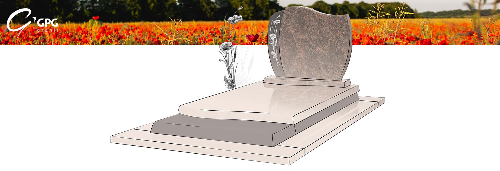 Le monument funéraire GPG 249 peut être conçu sur mesure