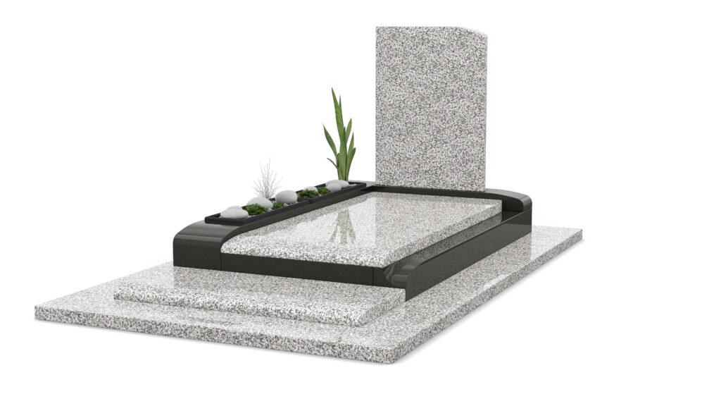 Illustration •Présentation du granit Blanc Cervin
