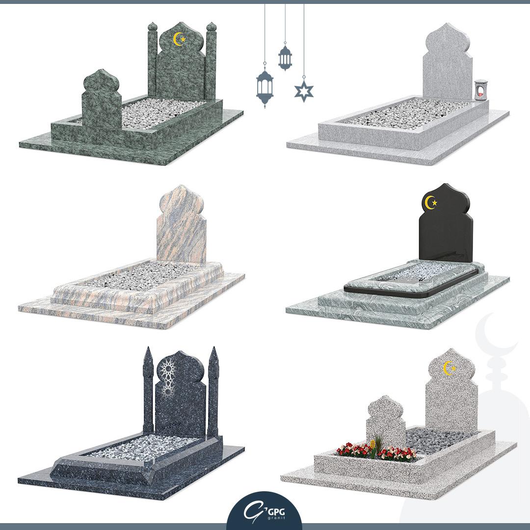 Les monuments funéraires musulmans de GPG Granit
