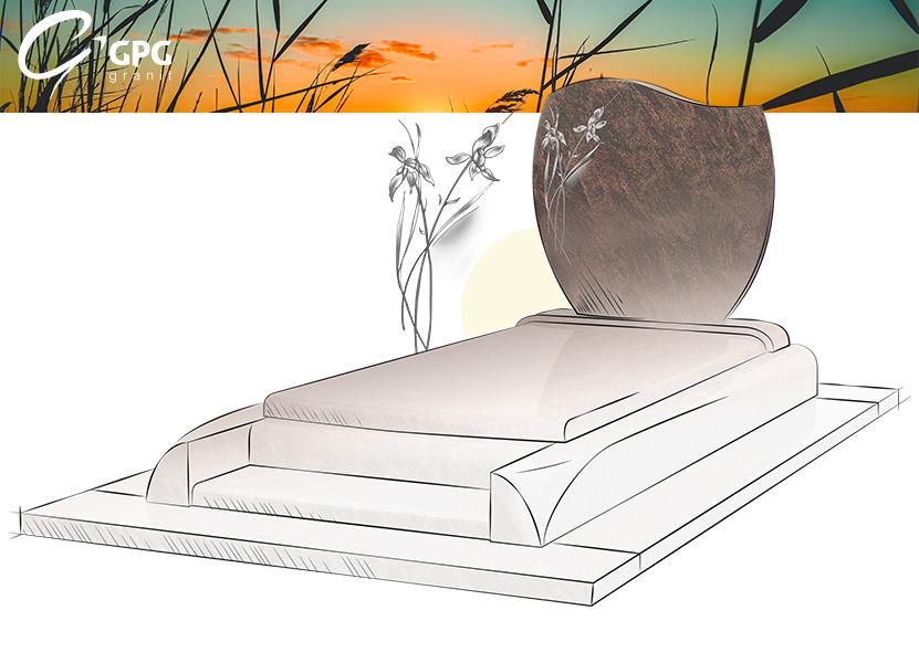 Illustration •Zoom sur le monument funéraire GPG 261