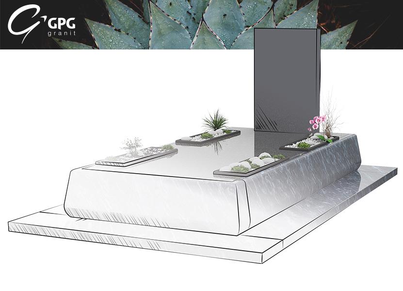 Illustration •Zoom sur le monument funéraire GPG 448/I