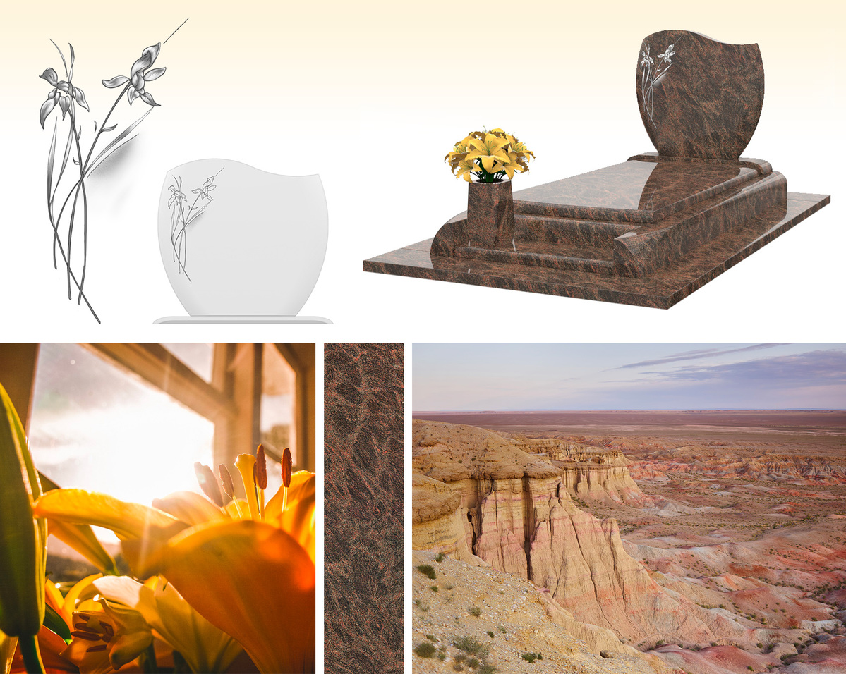 Monument funéraire GPG 261, carrière de granit et nature