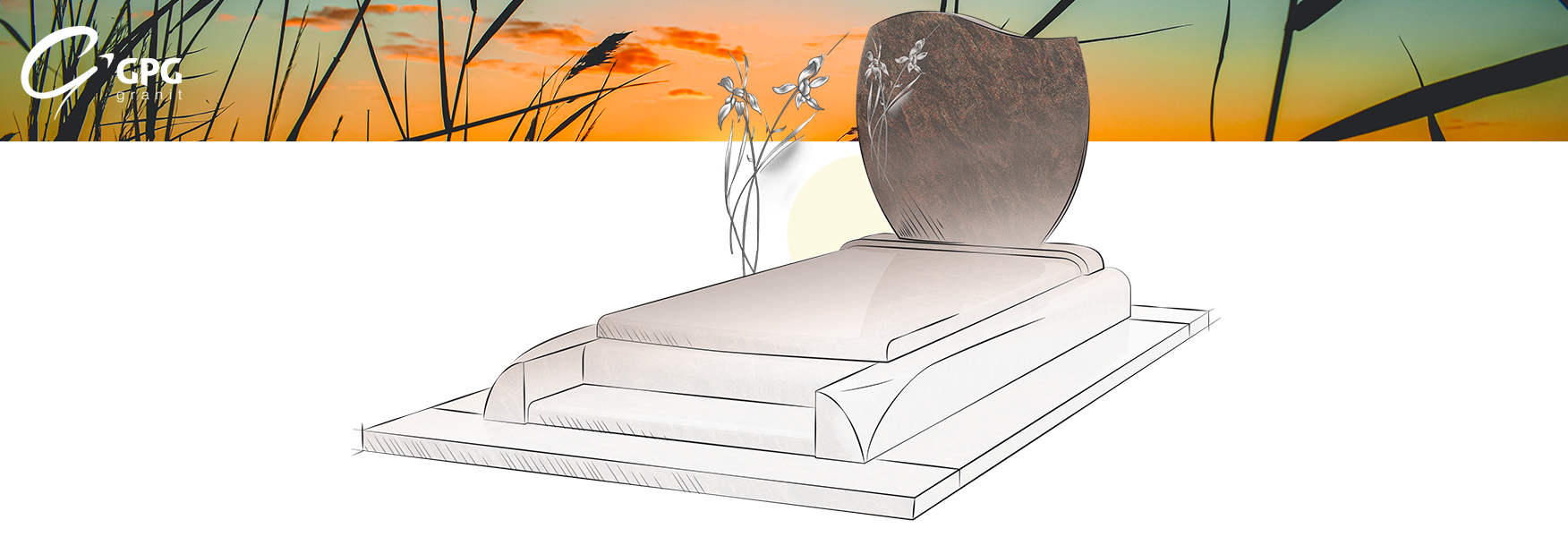 La sépulture GPG 261, moderne et traditionnelle
