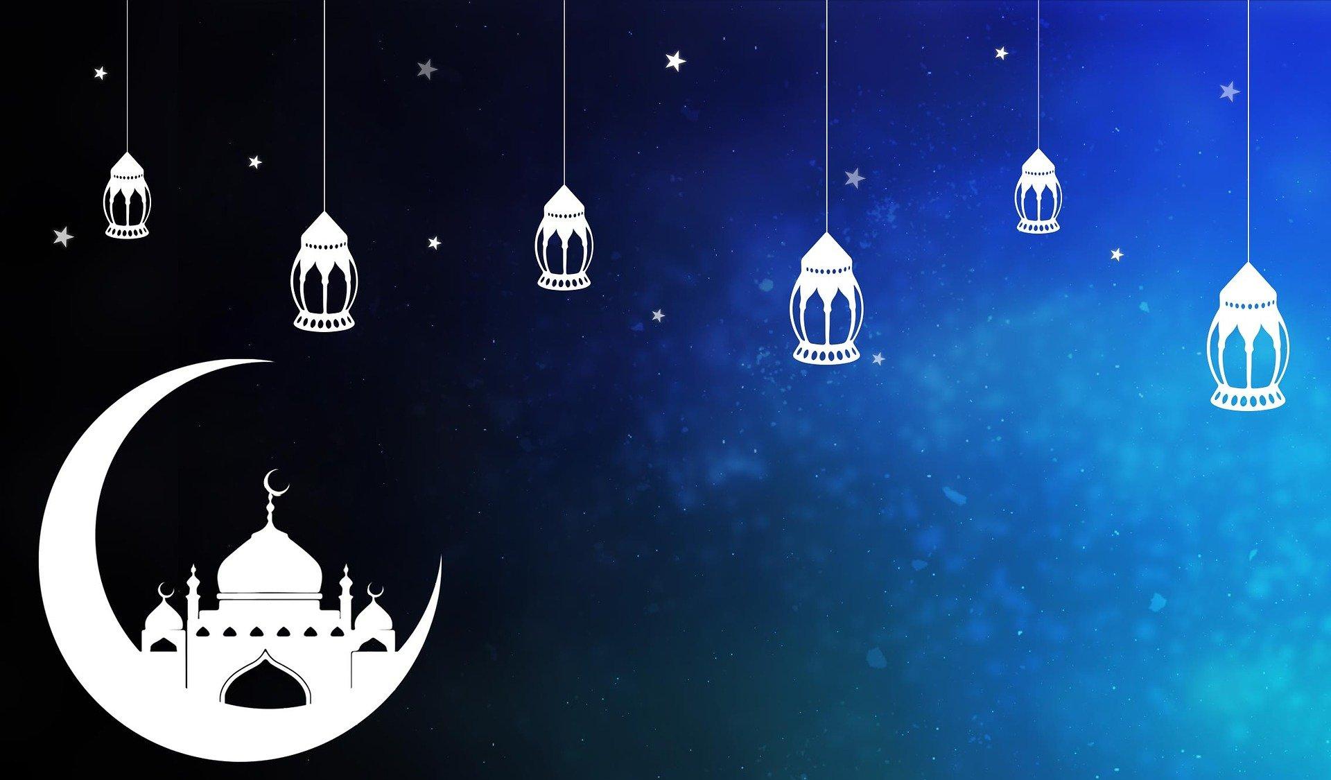 La lune et le ramadan pour les musulmans