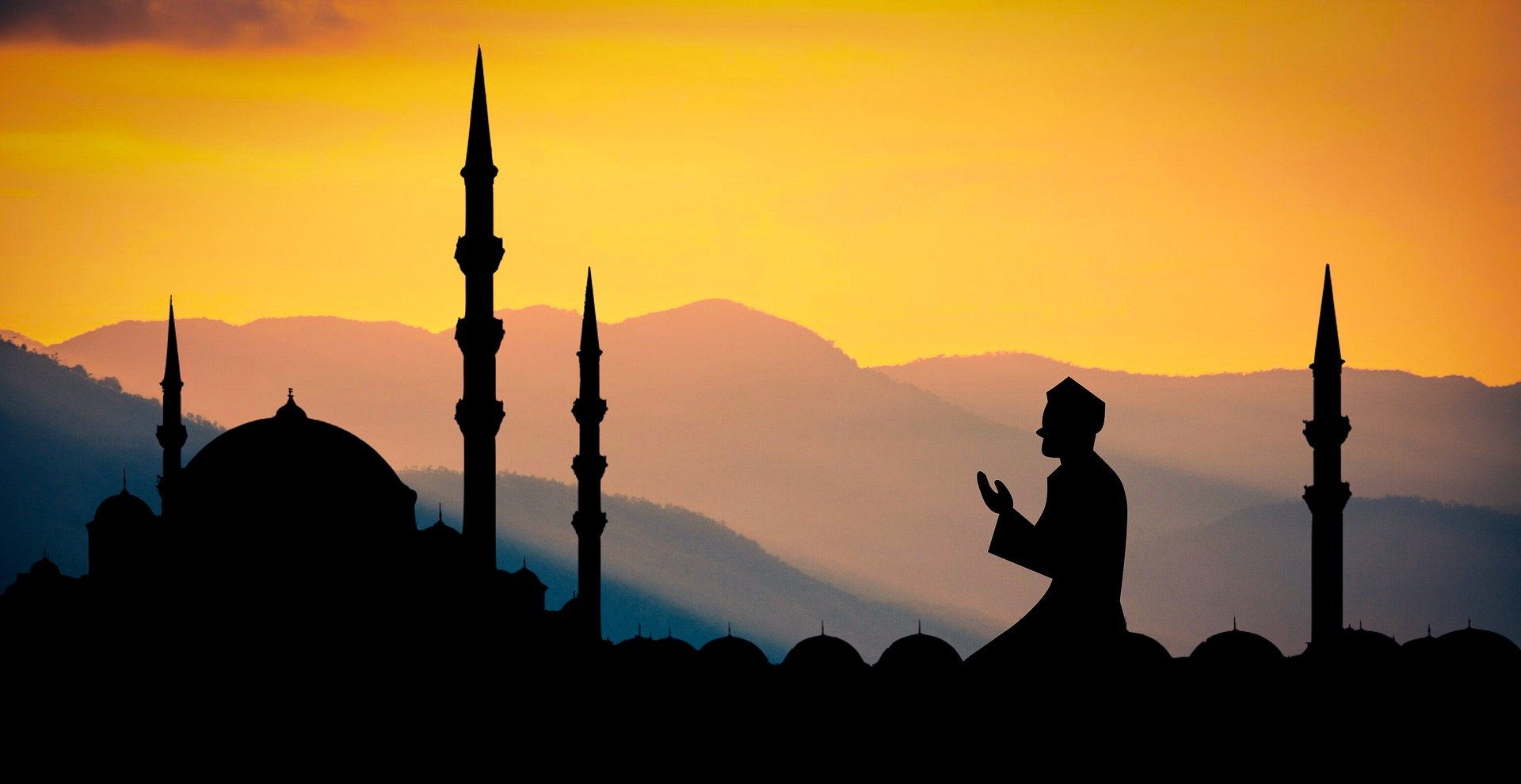 Musulman en train de prier, un incontournable du ramadan