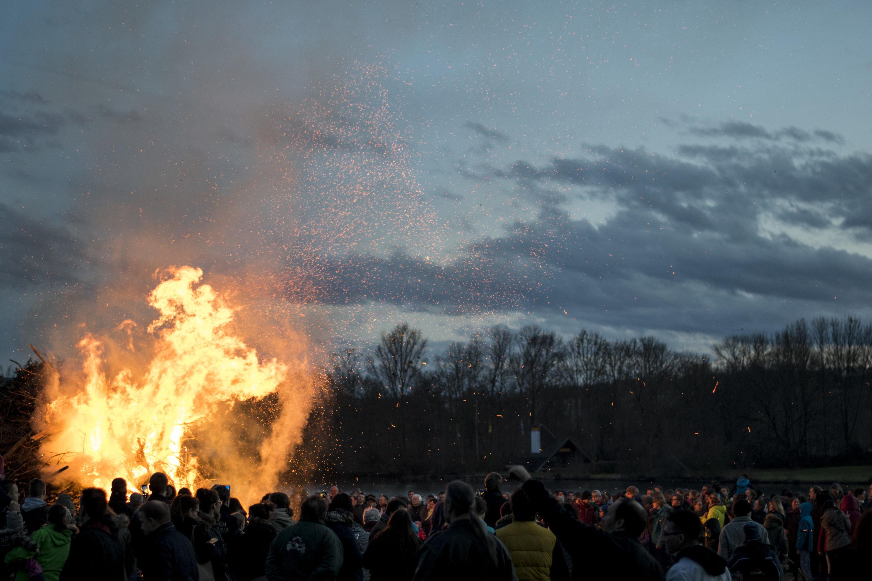 Osterfeuer, le feu de Pâques en Allemagne