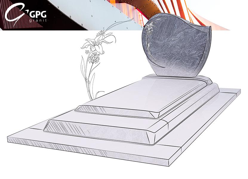 Illustration •Présentation du monument funéraire GPG 297