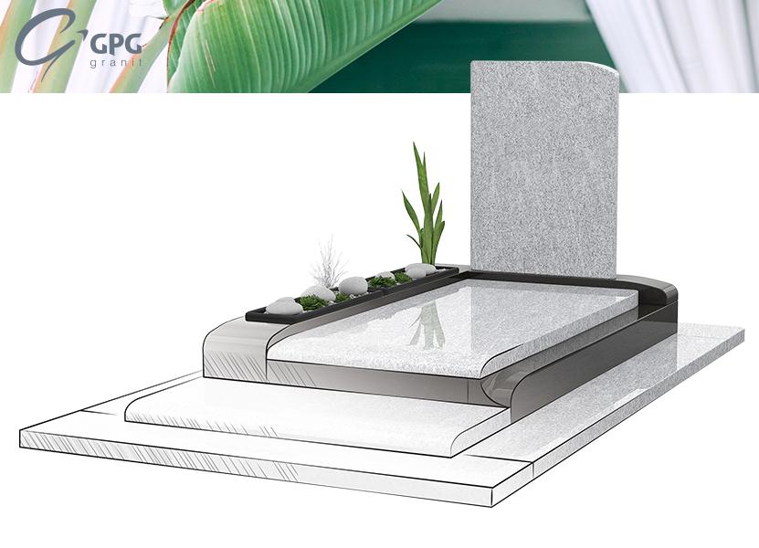 Illustration •Zoom sur le monument funéraire GPG 446/N