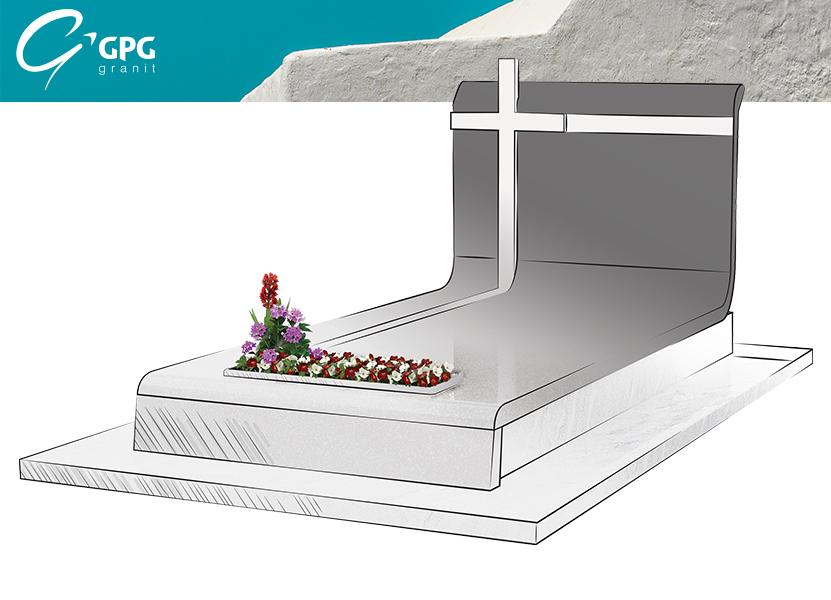 Illustration •Zoom sur le monument funéraire GPG 447/I