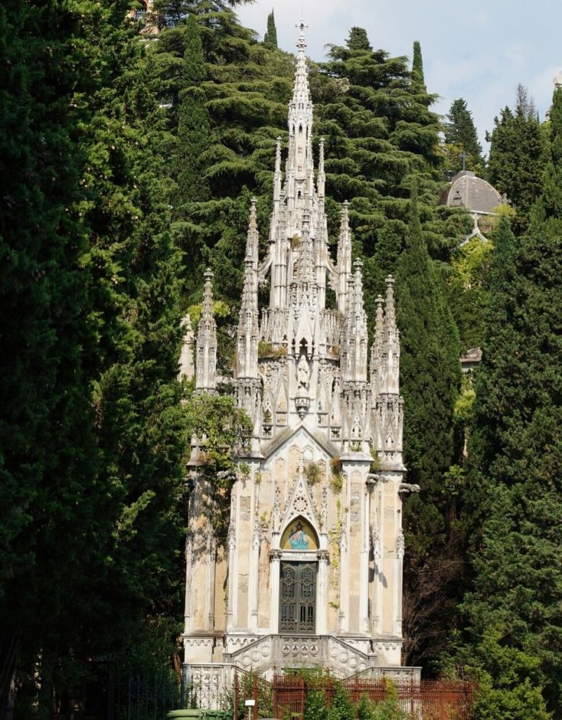 Cappella Raggio au cimetière de Staglieno