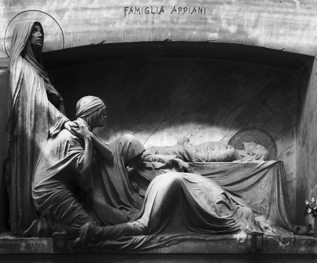 Illustration •Le cimetière Monumental de Staglieno de Gênes