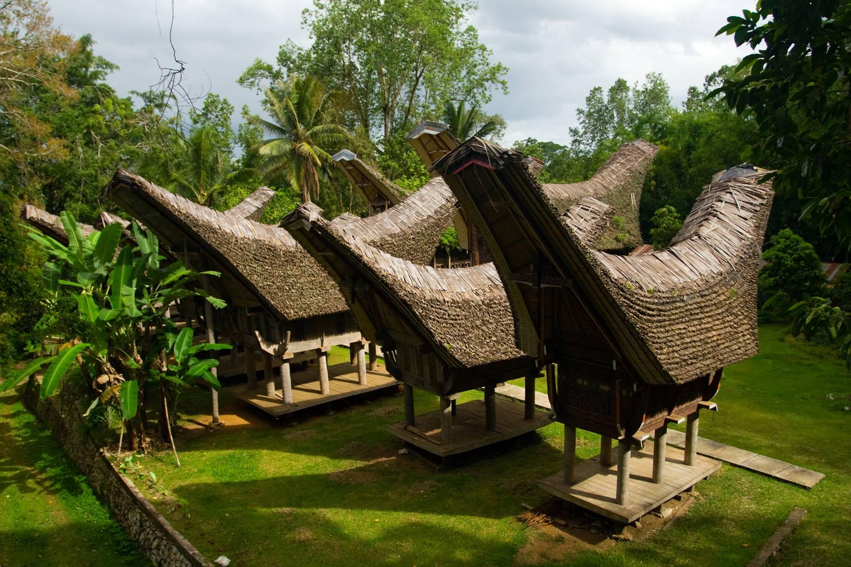 Tongkonan, maison traditionnelle chez les Torajas
